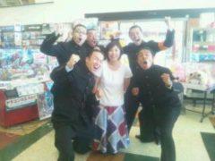 我武者羅応援団と一緒に撮った写真