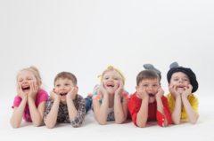笑顔の子ども達